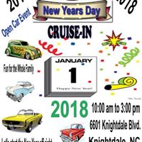 New Years Day Cruise-in 2018