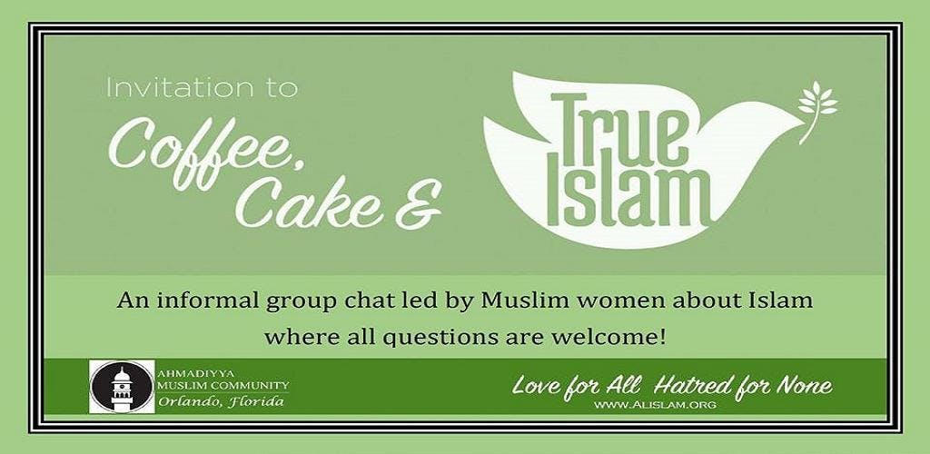 Ladies Coffee Cake and True Islam