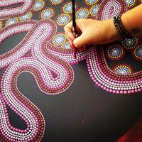 Workshop Intuitief Dot Art op Canvas (uitverkocht)