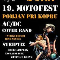 19. Motofest - ACDC cover band Striptiz (Free entry)