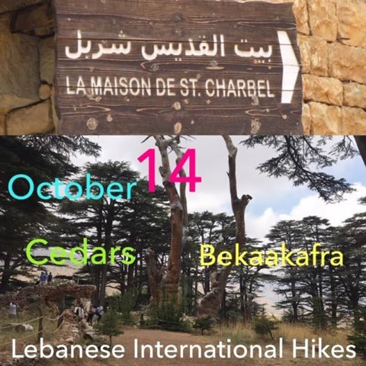 Sunday October 14 Cedars Bekka Kefra