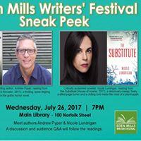 Eden Mills Writers Festival Sneak Peek