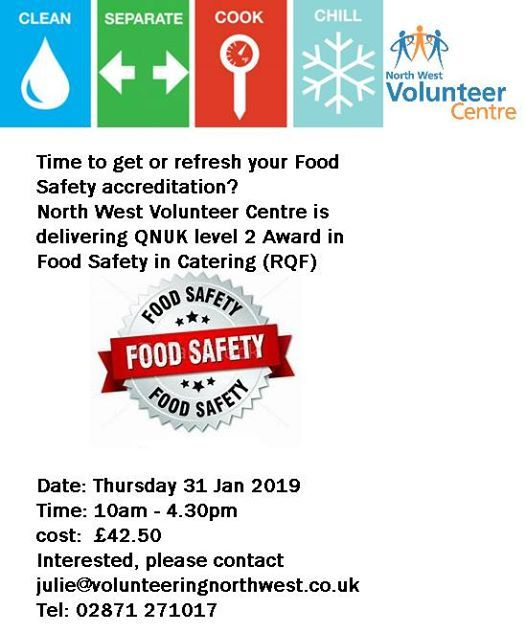 QNUK Level 2 Award in Food Safety for Catering (RQF)