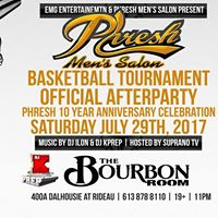 Phresh Basketball Tournament Official After Party