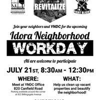 Idora Neighborhood Workday