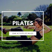 NEW Pilates du midi au parc de la Duranne by Gecko Yoga
