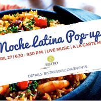 Noche Latina Latin Pop-Up at Bistro Ten Zero One