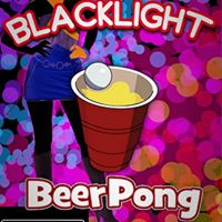 Blacklight Beer Pong