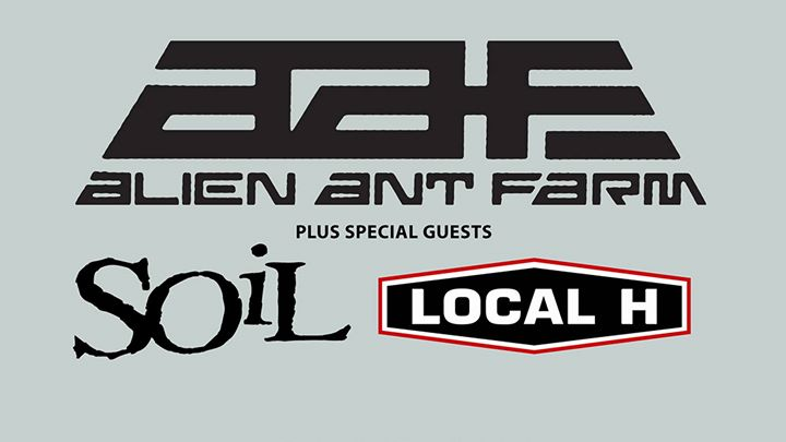 Alien Ant Farm & Soil & Local H - Academy Dublin - 14th Feb 18
