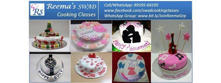 Fondant Cake Decoration Workshop