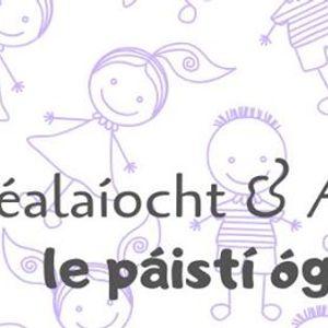 Scalaocht &amp Amhrin i Leabharlann Lrach