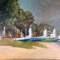 The Bali Bengong- Paintings from a 3 month stint in Sanur