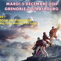 SLM 26e journe  Grenoble reoit Strasbourg