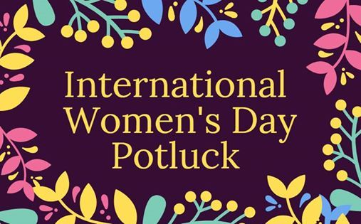 International Womens Day Potluck