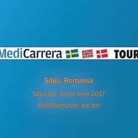 MediCarrera at MedPharmJobs Job Fair in Sibiu