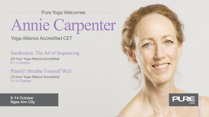 Art of Sequencing&Breathe Yourself well CET with Annie Carpenter