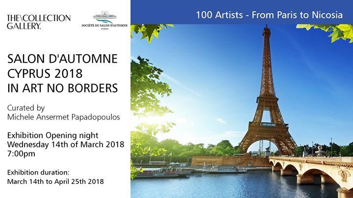 Salon Dautomne Cyprus 2018 - In Art No Borders