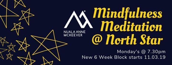 Mindfulness Meditation (Mondays at 7.30pm)