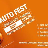 Biggest Auto Fest 2017 In Bengaluru