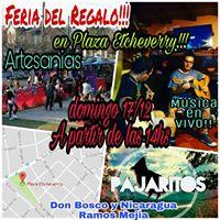 Feria Del Regalo En Plaza Etcheverry