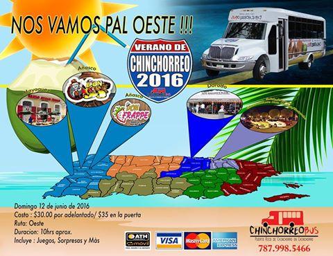 Bienvenida de verano 2016 at chinchorreo bus san juan for Rio grande arts and crafts festival 2016