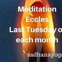 Mindfulness Meditation 26 Sept 7-8pm Eccles