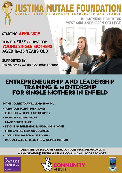 Free Business Training for Young Women