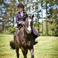 All Welsh Show affiliated junior side saddle class