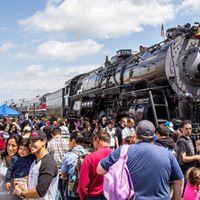 Fullerton Railroad Days 2017  3751 Night Photo Session