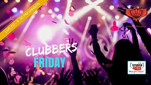 Clubbers Friday Night on 13th July