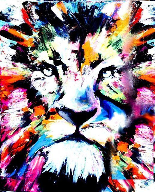 ArtNight ArtNight Lion op 27022019 in Rotterdam