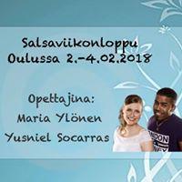 Salsaviikonloppu Oulussa