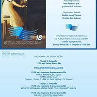 Otvorenje izlobe i 18. festivala komorne glazbe