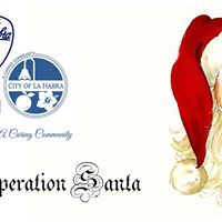 City of La Habra - Operation Santa
