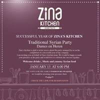 Zinas Kitchen First Party SOLD OUT