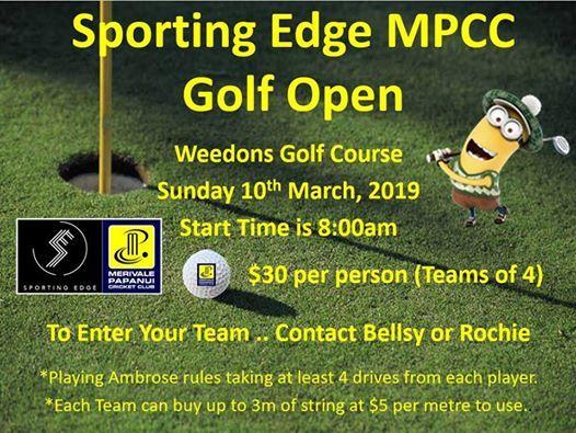 Sporting Edge MPCC Golf Open