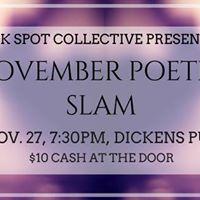 November Poetry Slam