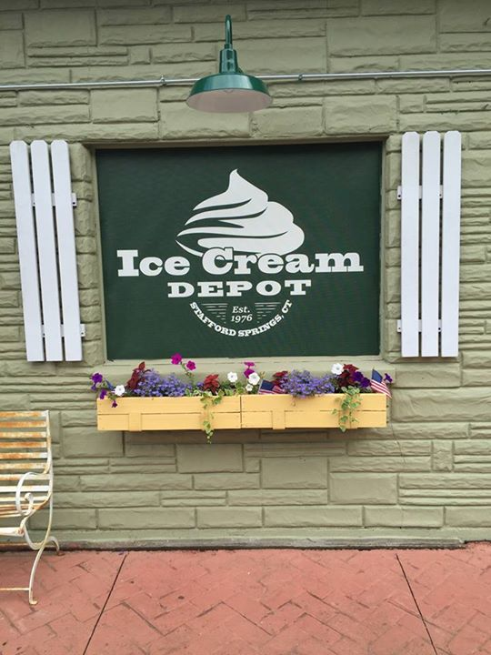 Jared Fiske at Ice Cream Depot - Stafford Springs CT