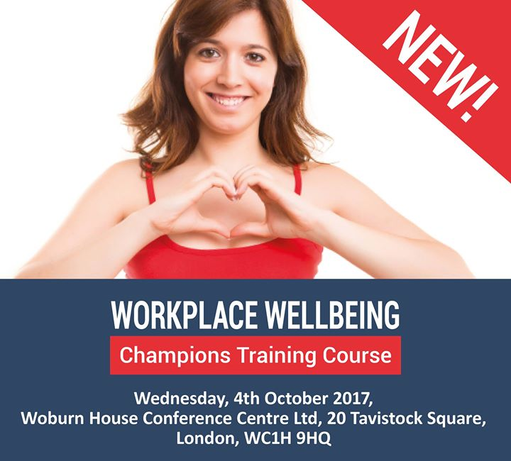 Workplace Wellbeing Champions Training Course At Woburn House