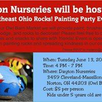 Rock Painting Party - Northeast Ohio Rocks