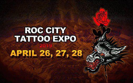 2019 Roc City Tattoo Expo at Holiday Inn Rochester NY