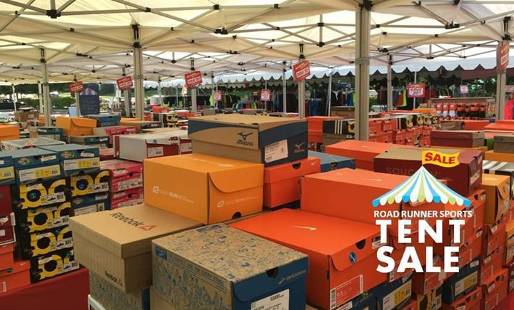 Tent Sale At Road Runner Sports Columbus