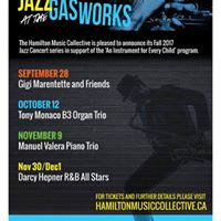 Genevieve Marentette Jazz At The Gasworks for the HMC