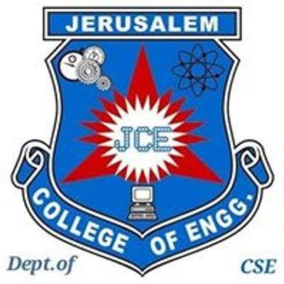 Dept.of CSE Jerusalem college of Engineering.