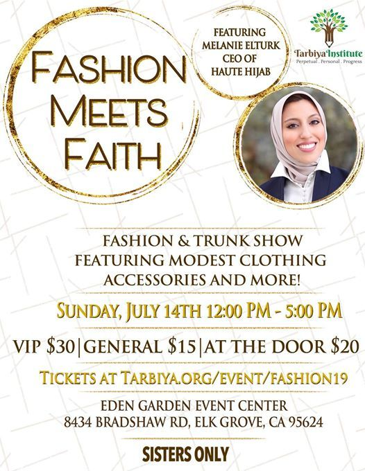 4ddf6fbaf1d8c Fashion Meets Faith at Eden Gardens Event Center, Elk Grove