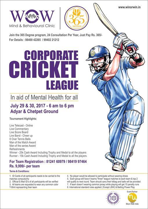 Corporate Cricket League