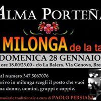 Milonga Alma Portea -co La Balera Dj Paolo Persiani
