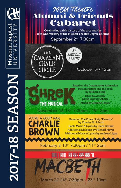 Auditions - The Caucasian Chalk Circle at MBU Theatre, St  Louis