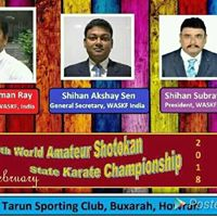 5th World Amature Shotokan State Karate Championship 2018