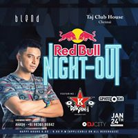 Redbull Night out with DJ Kan-i